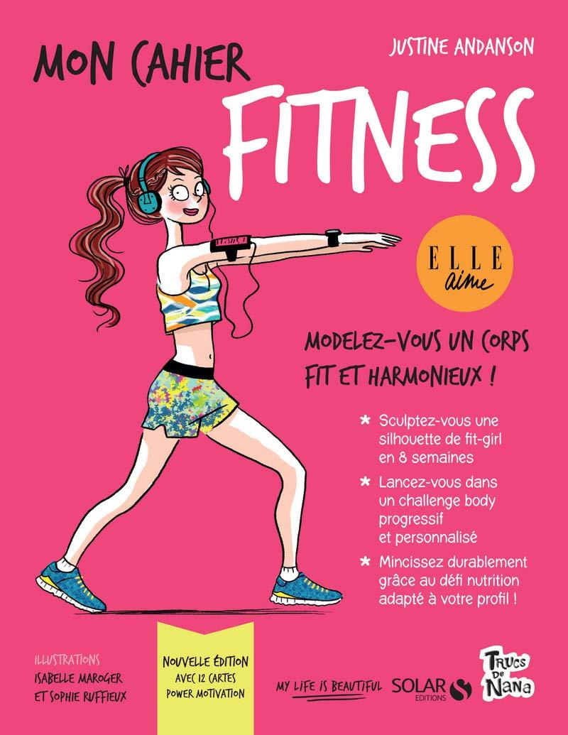 Mon cahier fitness : Avec 12 cartes power motivation: Amazon ...