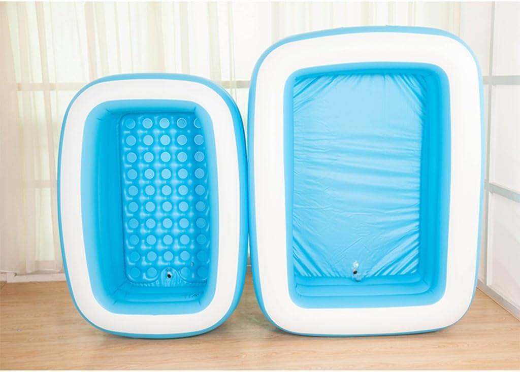 Verdickte Isolierung Falten Erwachsene Aufblasbare Wanne Kinder Waschbecken gr/ö/ße : 125*85*45cm
