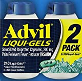Advil Liquid Gels 240 Ct.