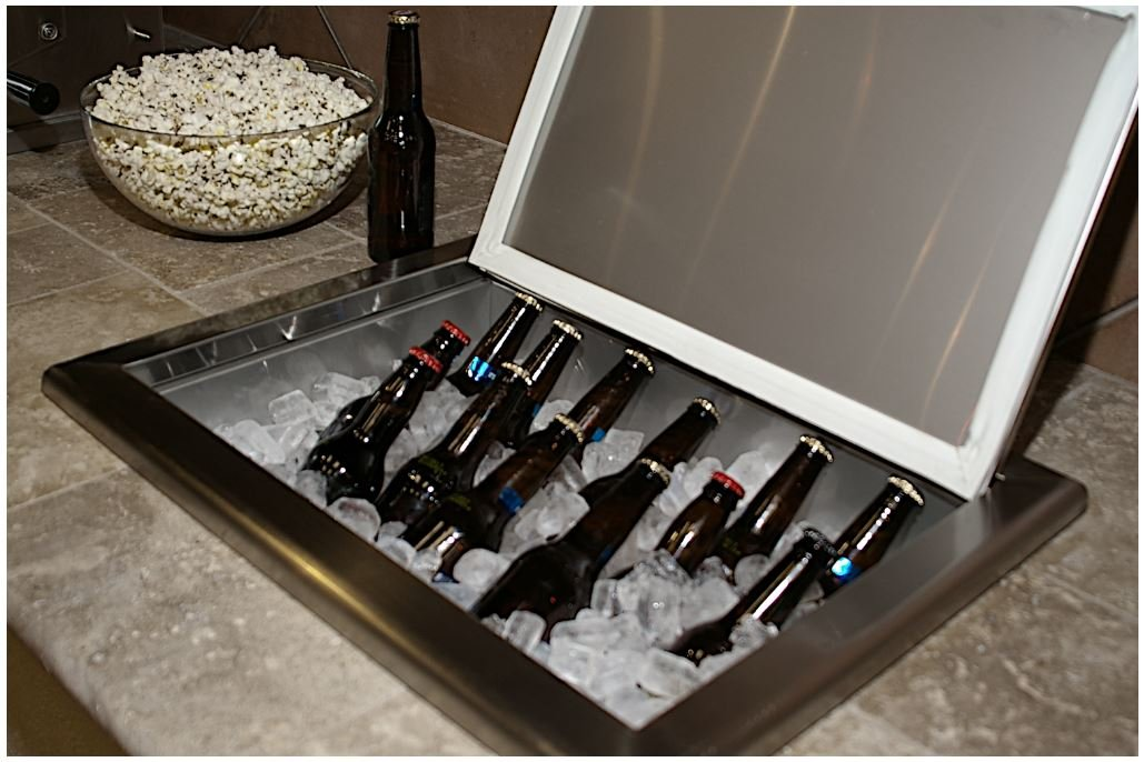 Coyote 25 Inch Stainless Steel Drop-in Cooler