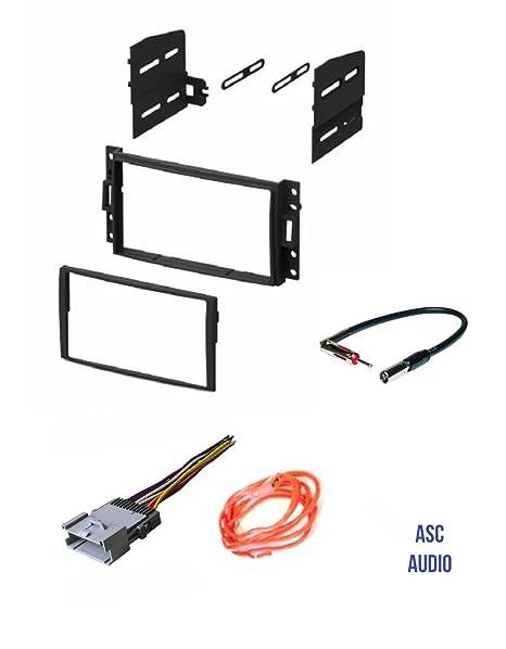 amazon com asc gm510 double din car radio stereo dash kit wire rh amazon com
