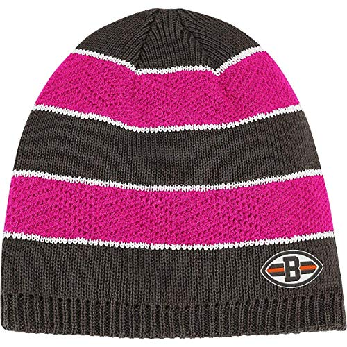 (Reebok Cleveland Browns Women's Breast Cancer Awareness Knit Hat One Size Fits All)