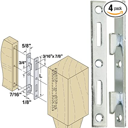 Amazon.com: Woodtek 160550, Hardware, Furniture, Bed Hardware, 5 ...