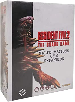 The Board Game-malformations of Steamforged Games sfre 2-004b Resident Evil 2