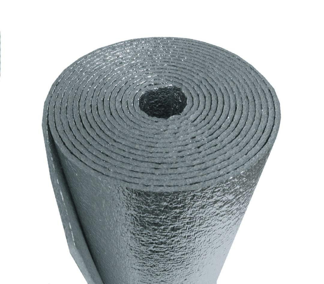 AES Industries Reflective Foam Insulation Heat Shield Thermal Insulation Shield 21' x 25Ft