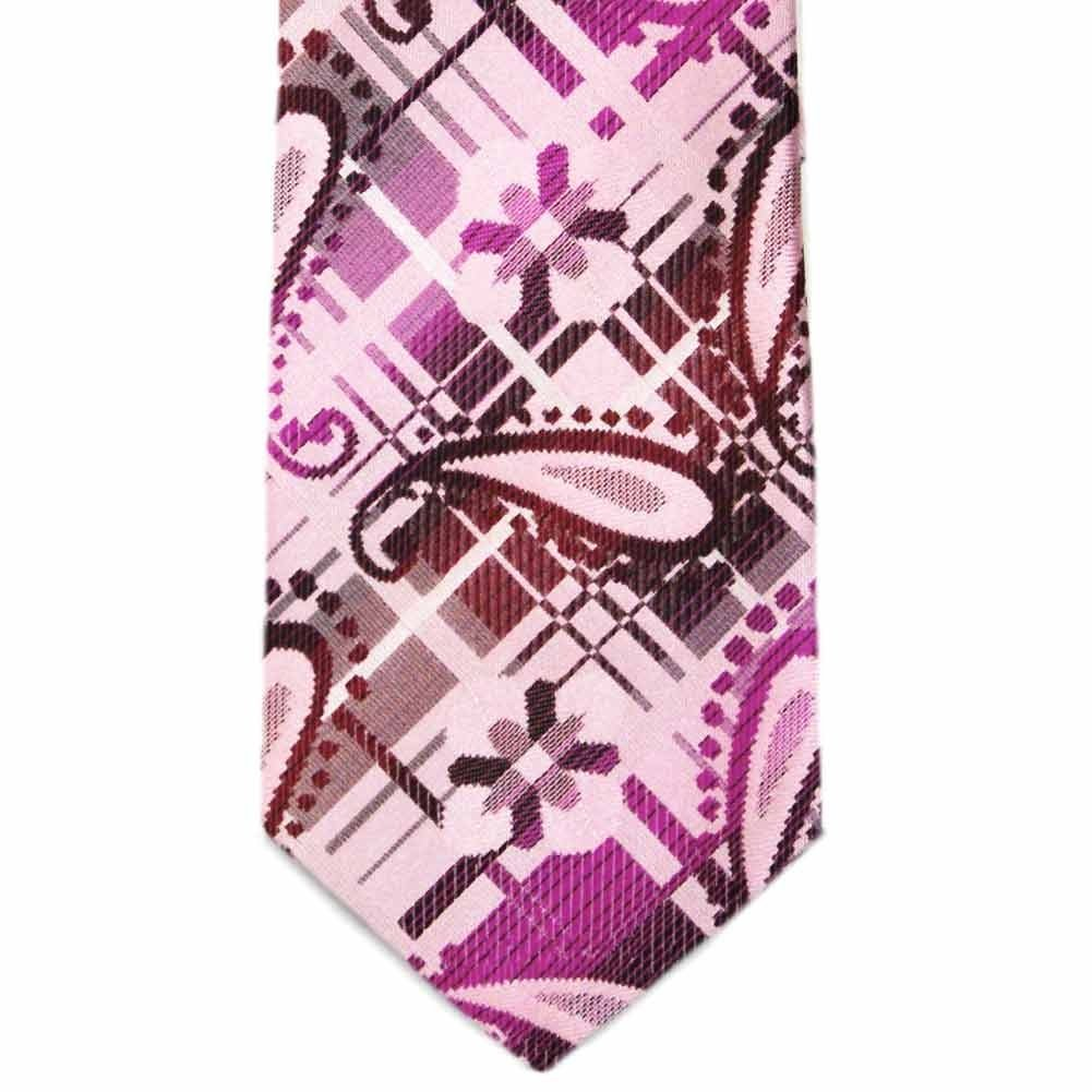TieMart Special Purchase Tie and Pocket Round Set in Blackwell