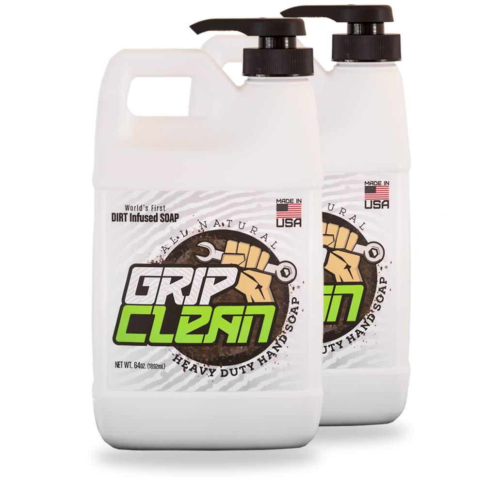 Grip Clean | DirtInfusedHeavy Duty Hand Cleaner - All Natural (1/2gal) x2 by Grip Clean (Image #9)