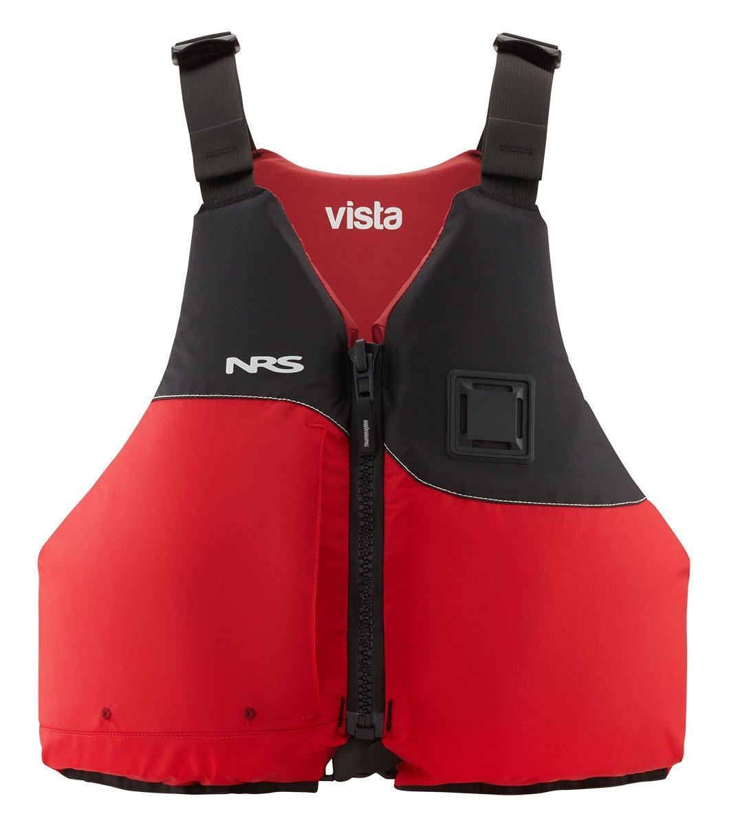 NRS Vista Lifejacket ( PFD ) B079632GDZ XL/XXL|レッド レッド XL/XXL