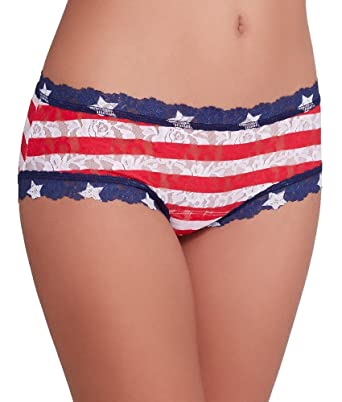 46f755f847 Hanky Panky Women s Stars and Stripes Boy Shorts