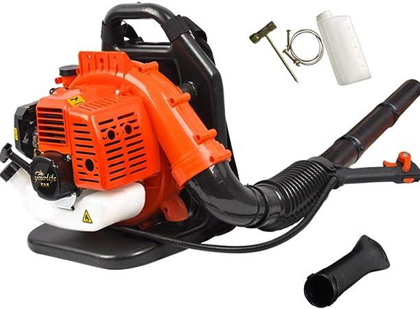 ALGWXQ Soplador de Hojas de Motor de 2 ciclos con Motor de Gasolina - Soplador de Gasolina con extensión de Boquilla para el Cuidado del césped (Color : Orange): Amazon.es: Hogar