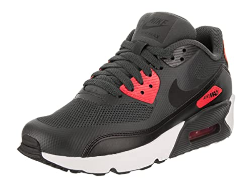 f980746a9f Amazon.com | Nike AIR MAX 90 Ultra 2.0 (GS) Boys Running-Shoes  869950-002_5Y - Anthracite/Black-University RED-White | Running