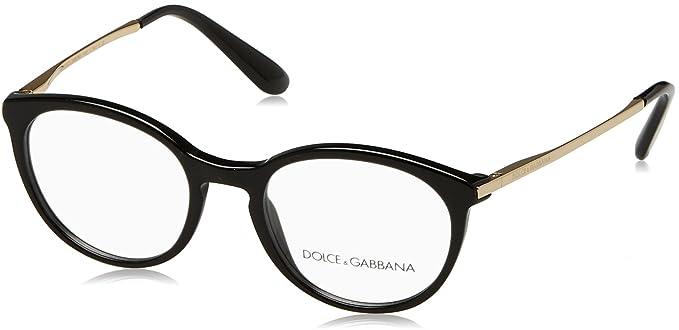 Amazon.com: Dolce & Gabbana dg3242 Lentes de la mujer, Negro ...
