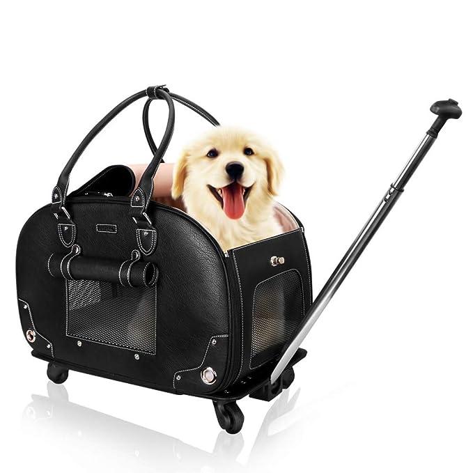 Amazon.com: PetsHome - Cartera para perro, transportador de ...