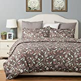 Bedsure 2pc Duvet Cover Set Reversible, Twin-XL, Floral Pattern Deal (Small Image)