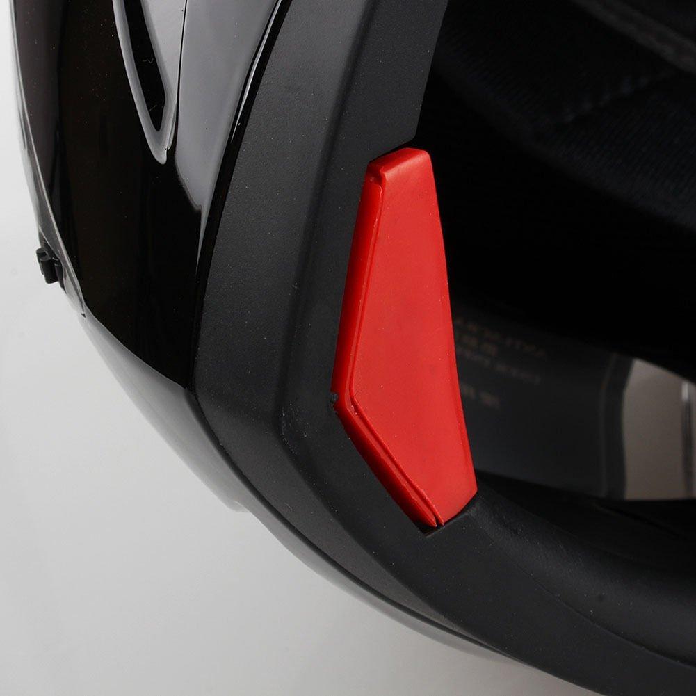 Casque de moto modulable Flip-Up XXL blanc