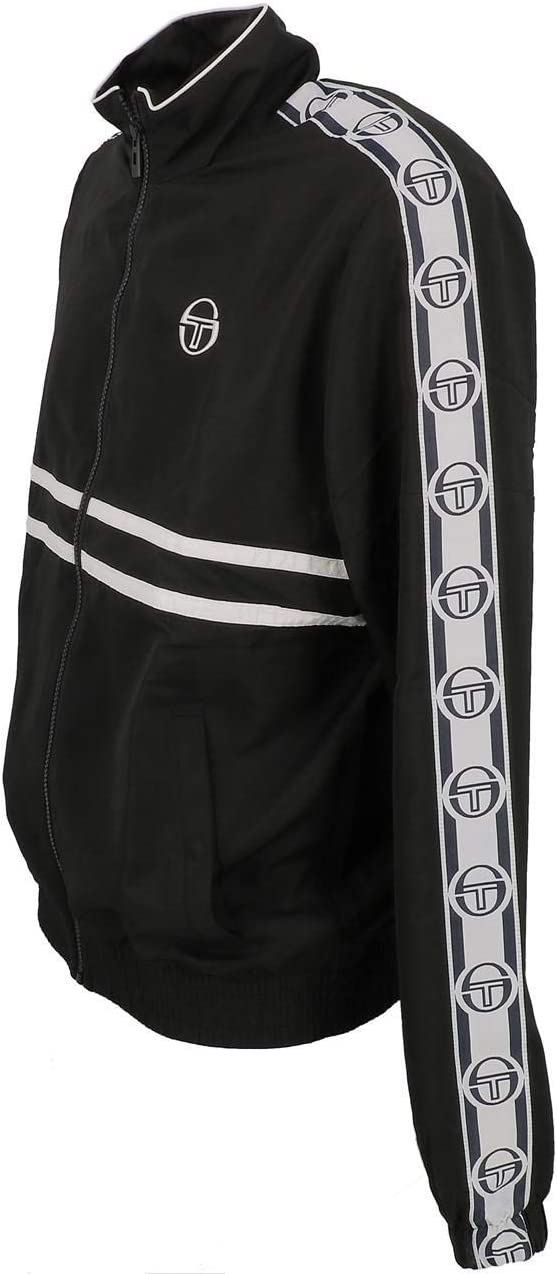 Sergio Tacchini Mens Doral Casual Zip Up High Collar Tracksuit Track Jacket