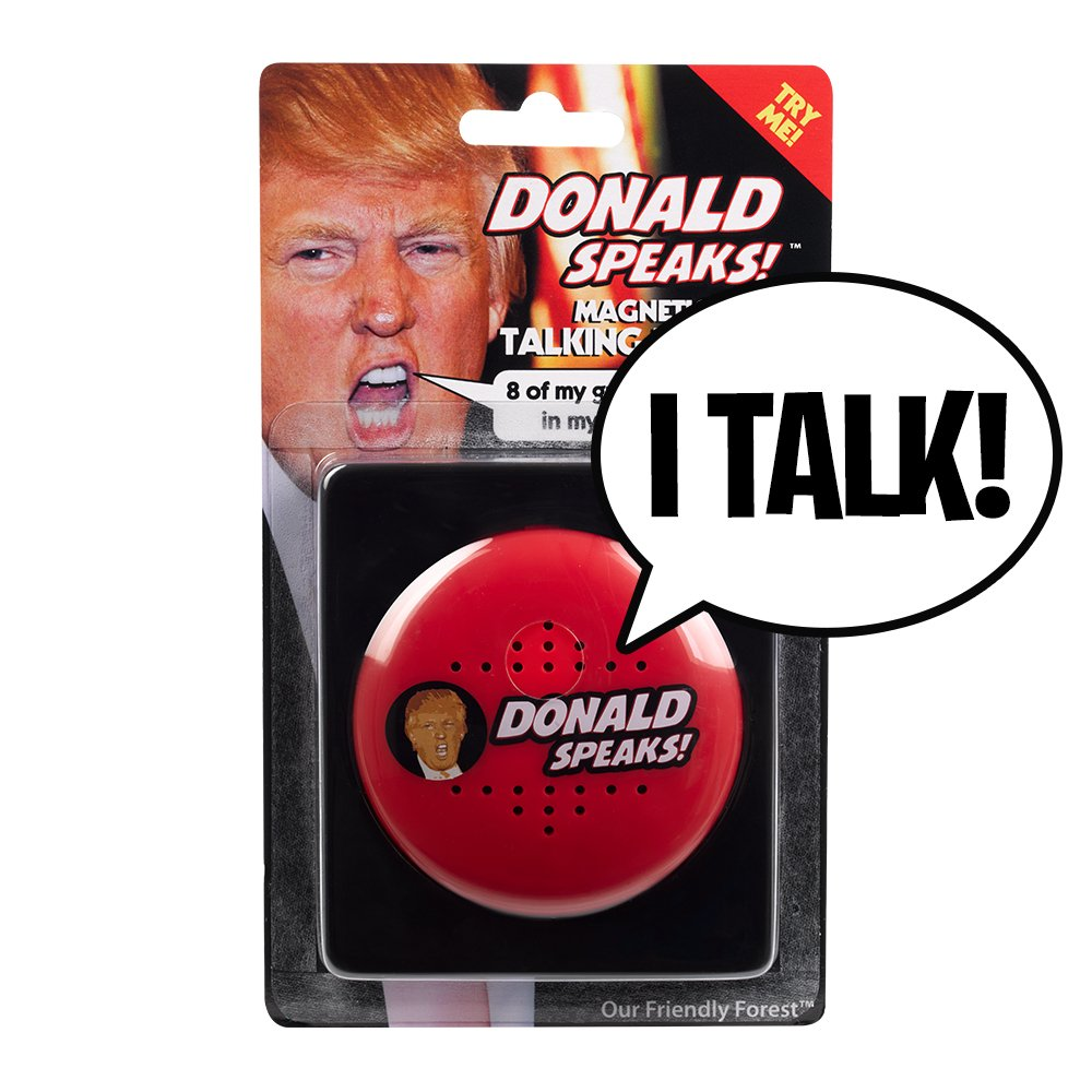 Donald Talking Button
