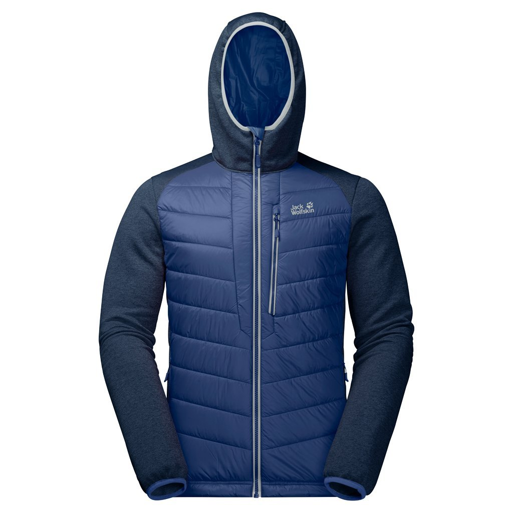 Jack Wolfskin Men's Skyland Crossing Jacket, Royal Blue, X-Large by Jack Wolfskin