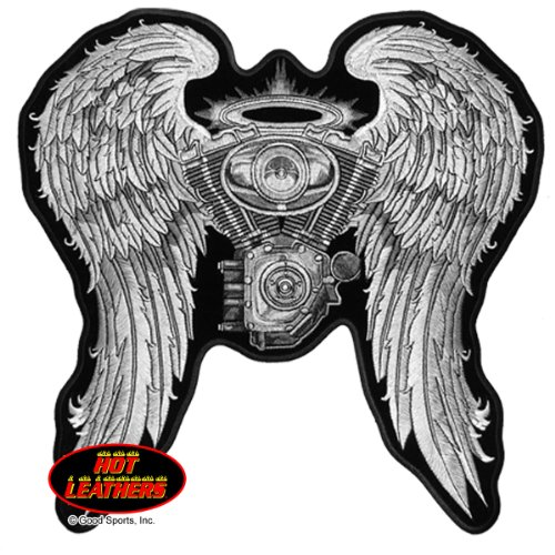 hot-leathers-ladies-asphalt-angel-high-thread-embroidered-iron-on-saw-on-rayon-biker-patch-10-x-10