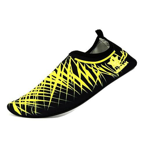 VILISUN Calcetines de Buceo Natación Zapatos de Agua Unisex para Buceo Snorkel Surf Piscina Playa Yoga Deportes Acuáticos, Hombres y Mujeres.