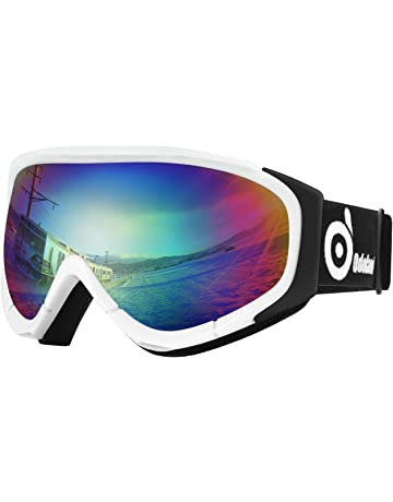 c34b72904af9 Odoland Snow Ski Goggles S2 Double Lens Anti-Fog Windproof UV400 Eyewear  for Adult and