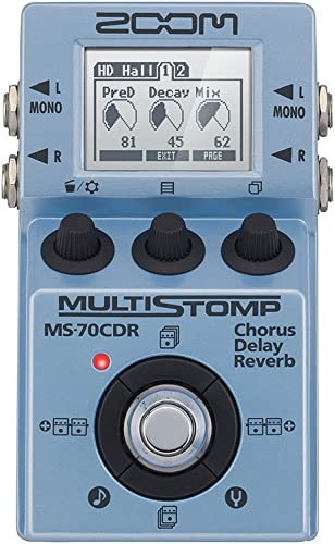 ZOOM MS-70CDR Multi-stomp spatial effects