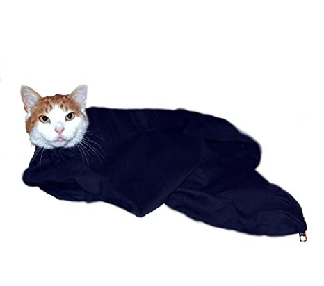 db679230971 Amazon.com : Cat-in-the-bag XL Charcoal Cozy Comfort Carrier- Cat ...
