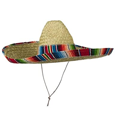 c9229ad8363 Amazon.com  Jacobson Hat Company Mexican Sombrero Hat Adult Costume Spanish  Fiesta Cinco de Mayo Festive Salsa