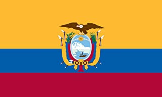 product image for Valley Forge Flag 2-Foot by 3-Foot Nylon Ecuador Flag