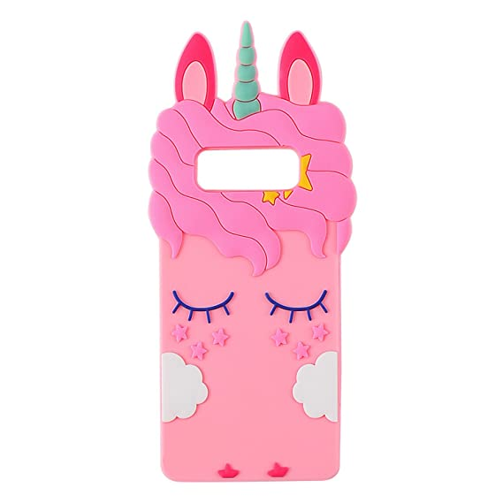 the best attitude c5a98 b2960 Joyleop Pink Unicorn Case for Samsung Galaxy Note 8,Cute 3D Cartoon Animal  Cover,Fun Kids Girls Soft Silicone Rubber Kawaii Character Fashion Unique  ...