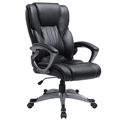 amazon com ergonomic executive adjustable swivel task chair high