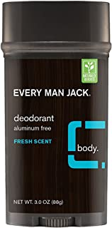 product image for Every Man Jack Deodorant 3 Ounce Fresh Scent (88ml) (2 Pack)