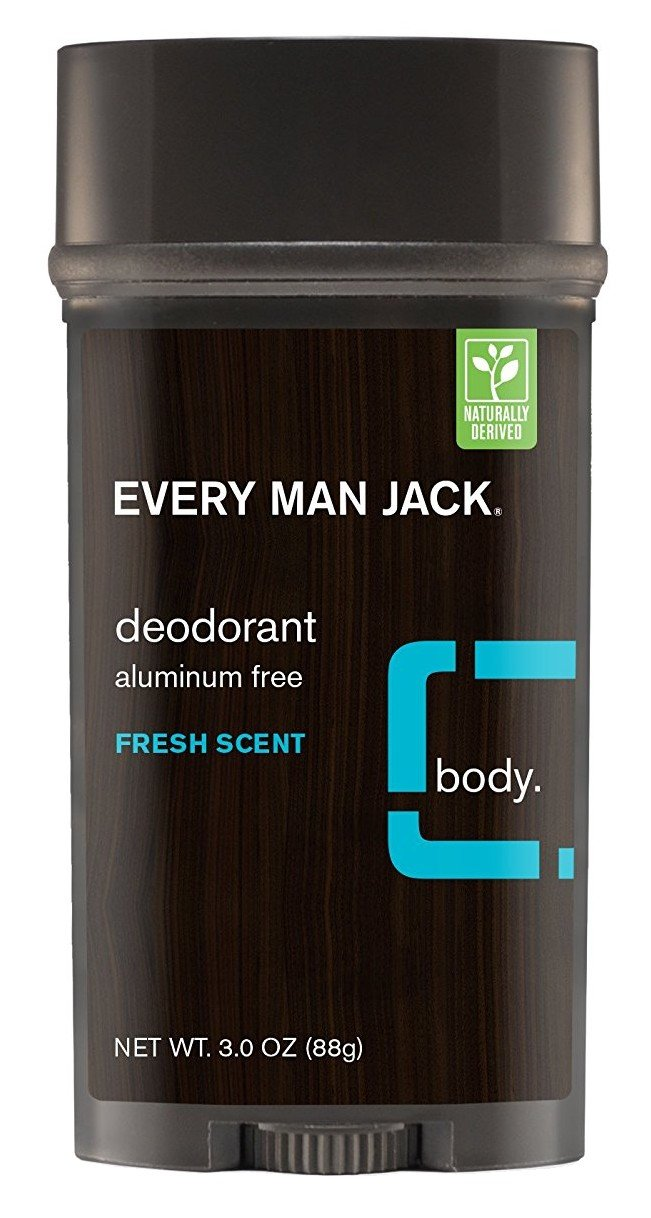 Every Man Jack Deodorant 3 Ounce Fresh Scent (88ml) (3 Pack)