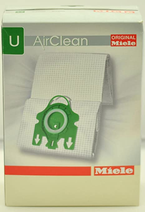 Bolsas para aspiradora Miele tipo U 7282050: Amazon.es: Hogar
