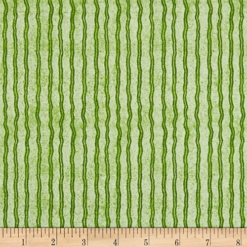 - QT Fabrics Hungry Animal Alpha Stripe Green Yard