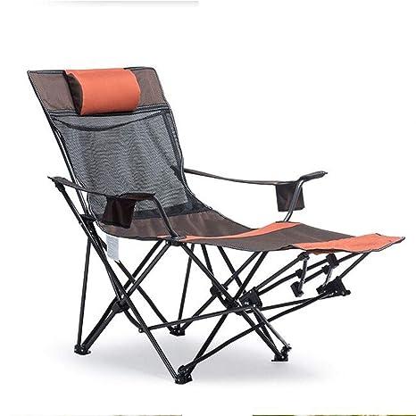 YULAN Nueva Silla Plegable al Aire Libre reclinable Respaldo ...