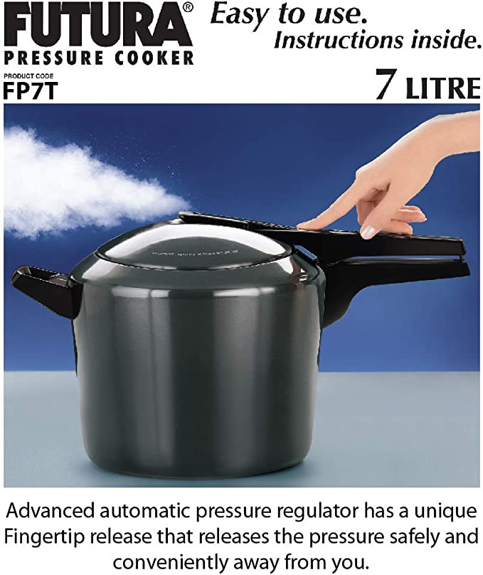 Futura by Hawkins F10-14 Pressure Regulator for Hard Anodized Aluminum//Stainless Steel Pressure Cookers