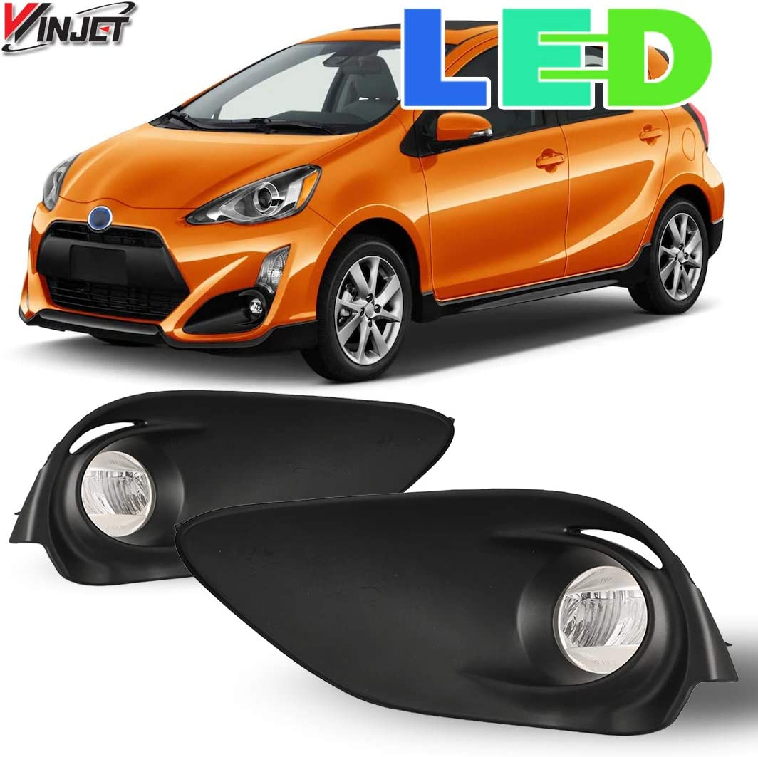 Wiring Kit Winjet Compatible with Switch Driving Fog Lights 2015-2016 Toyota Prius C