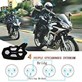 Helmet Headsets Wayxin R9 Bluetooth Intercom for