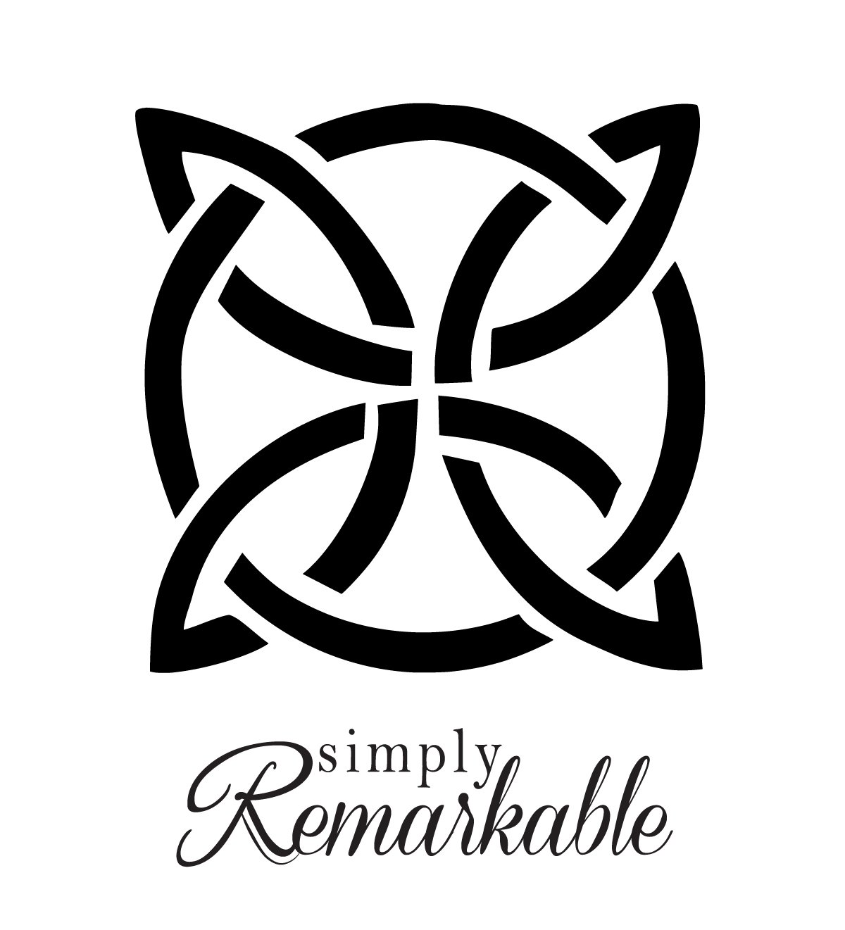 Size 4.2 x 4.2 inches Vinyl Decal Sticker for Computer Wall Car Mac Macbook and More Celtic Knot