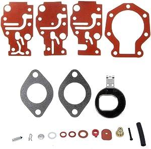 CQYD New Carburetor Carb Repair Rebuild Kit For Johnson/Evinrude 439073 0439073 18-7219
