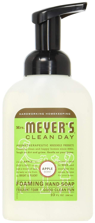 Mrs. Meyer's Foaming Hand Soap - 10 fl oz (Apple, Pack of 6)