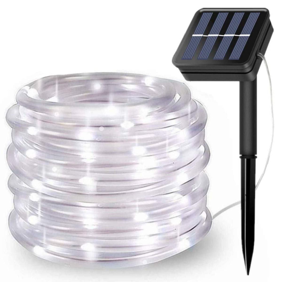 LiyuanQ Solar Rope Lights 100LEDs