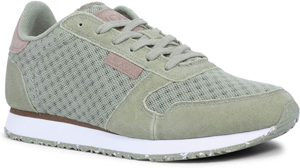 Woden Sneakers Ydun Suede Mesh 306 Dusty Olive