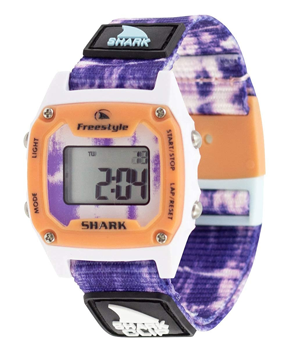Freestyle Shark Mini Clip Tie-Dye Purple Burst Unisex Watch FS101019