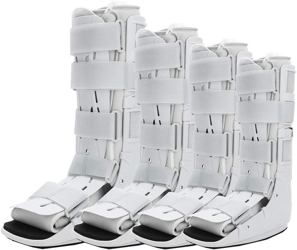 Bota Air Walker, férula plantar, férula andamio para recuperación de fracturas, protección y curación después de lesiones en el pie o tobillo (S)