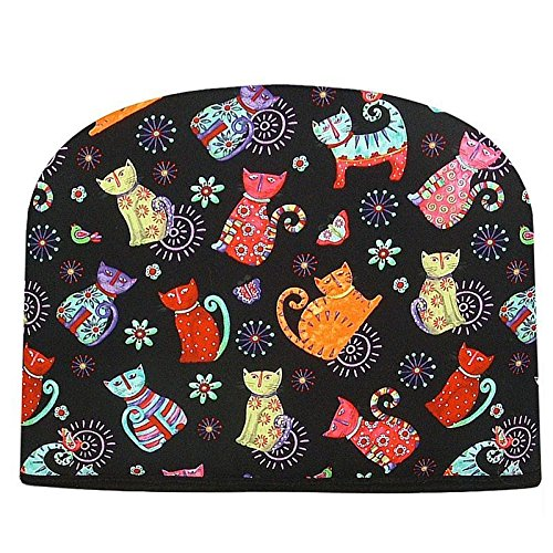 Blue Moon Teapot Tea Cozy Happy Cats Tea Cozy Double Insulated Teapot Tea Cozy by Blue Moon Fine Teas