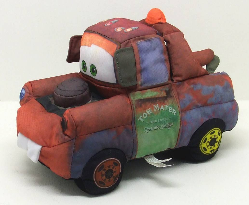 Adorable Disney Talking Mater Tow Truck From Cars 11 Long Plush Doll