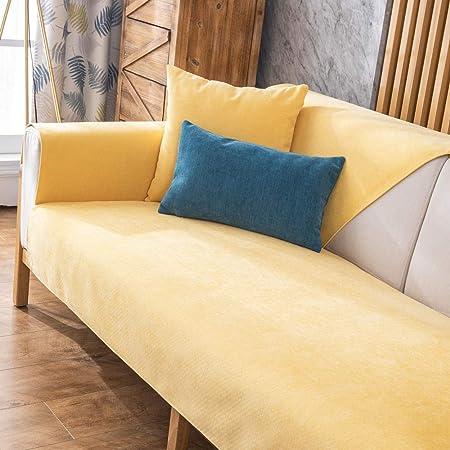 Suuki Cubre Sofas,Sofa rinconera Salon Cover,Funda de sofá de Dormitorio, Fundas de cojín de sofá de Chenilla de jardín,Protector de sofá Antideslizante Protector-Zafiro_7-Vendido por Pieza: Amazon.es: Hogar