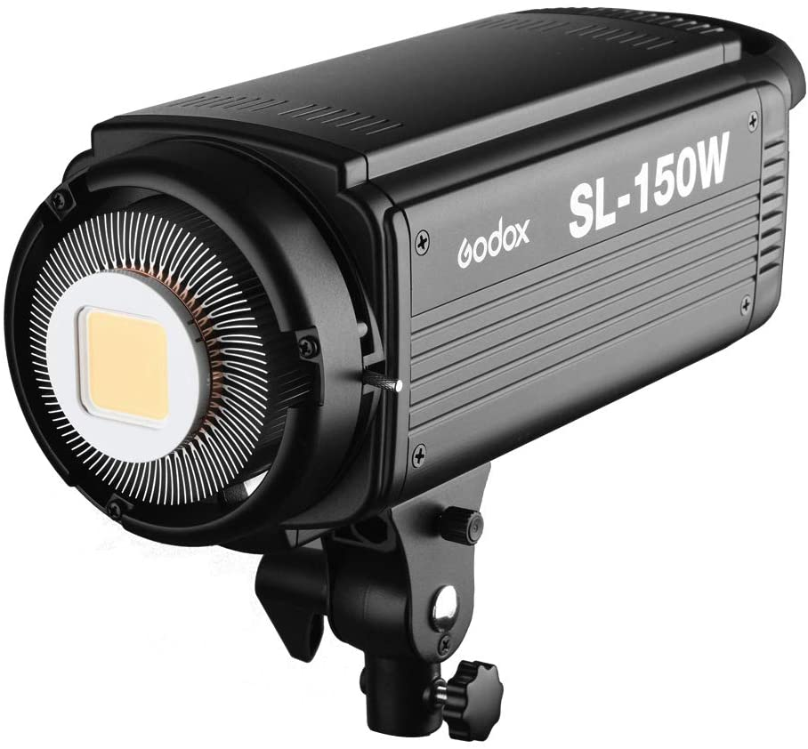 Remote Control Godox SL-150W 5600K CRI 93 16 Channels LED Studio Continous Video Light with Bowens Mount for DSLR Camera